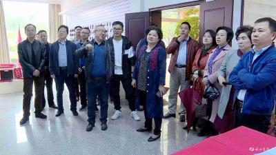 党代会监督委员会视察年轻企业家培育工程