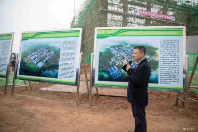 宜昌市长江大保护和高质量发展现场推进会与会代表来我市参观考察