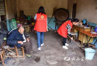 【不忘初心 牢记使命】茶元寺村:上门服务留守老人 推进主题教育更深入
