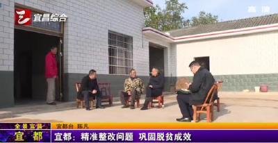 【三峡广电】宜都:精准整改问题 巩固脱贫成效