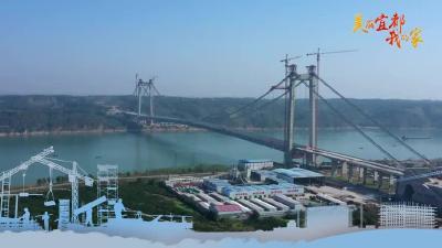 跨江牵手!白洋长江公路大桥成功合龙了……