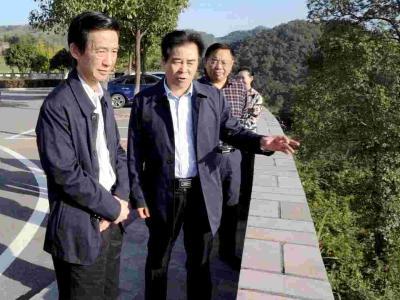 广东省政协来我市调研自然地保护建设及生态补偿工作
