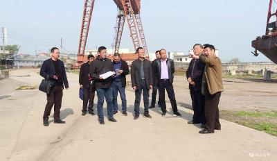 我市开展长江干流岸线利用项目清理整治工作督查