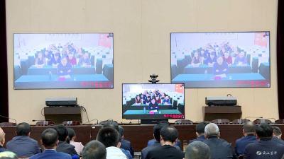 我市组织收听收看宜昌市建筑业高质量发展电视电话会