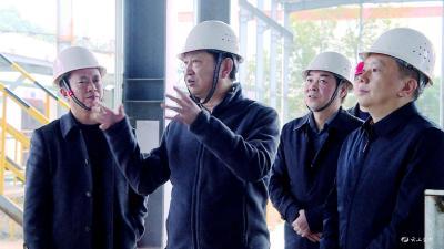 宋文豹来我市调研工业经济发展