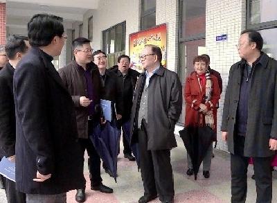 中国关工委常务副主任张玉台率调研组来我市调研