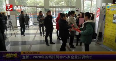 【三峡广电】 我市多地启动春风行动暨就业援助月活动