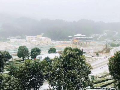 市气象局:预警联防 全力做好今年首场降雪气象服务