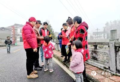 【新时代文明实践在宜都】吕家坳村:志愿服务让文明花开满乡村