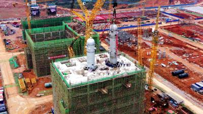 【重点项目巡礼】东阳光创新药仿制药项目一期22栋单体建筑开工建设