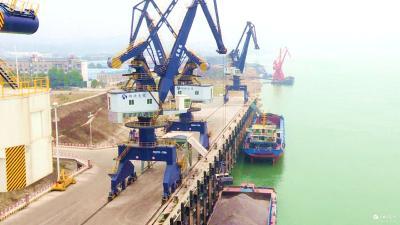 【重点项目巡礼】宜都港区红花套综合码头:打造港口物流大通道 助力宜都高质量发展
