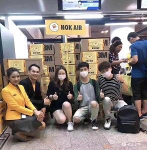 """宜都姑娘从婆家泰国""""捎""""回8000只口罩"""