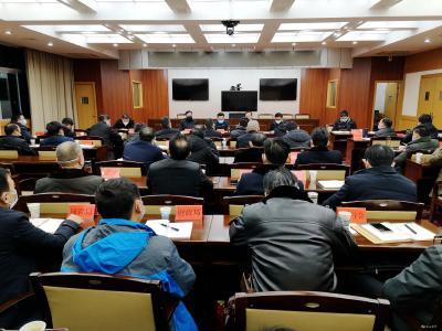 谭建国主持召开疫情防控指挥部工作调度会