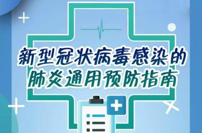 新型冠状病毒感染的肺炎怎么预防?官方指南来了!
