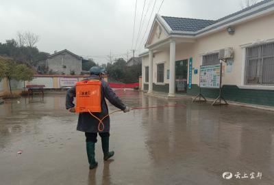 """徐家湾村:防控疫情""""我是党员我带头"""""""