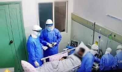 宜昌医疗救治专家组抵达宜都