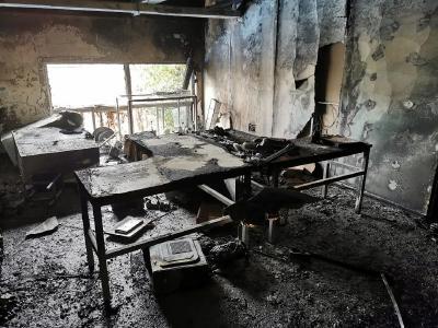 千万小心!苏州一员工在公司里喷酒精消毒,结果引燃整个办公室