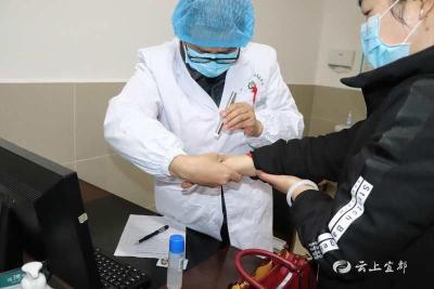陆城卫生院承接食品药品等重点行业人员预防性健康体检
