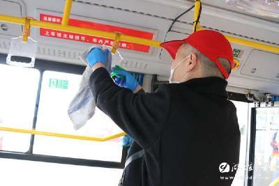 【防疫有我 爱卫同行】市交通运输系统:防疫环境两手抓 安全卫生齐推进