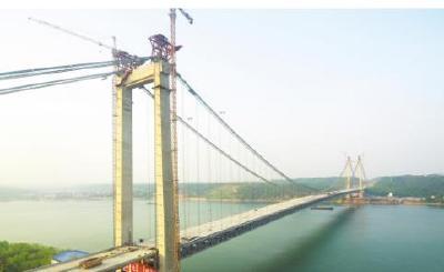 【湖北日报】疫情以来我省修通首座长江大桥