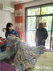 【三峡宜昌网】名都社区|贴心格格 便民服务送到家(图)