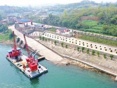 宜都首个港口和船舶污染物接收转运码头投入使用