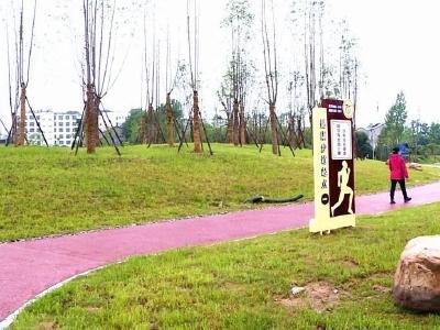 小西湖健康主题公园正式建成