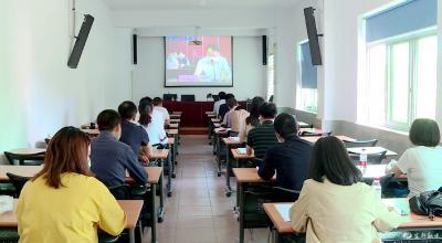 我市收听收看宜昌市2020年脱贫攻坚专题培训视频会