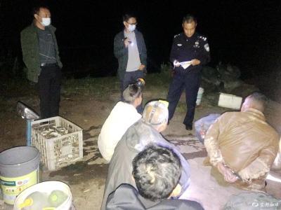 非法捕捞水产品!7人被抓......