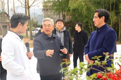 农业农村部副部长张桃林来建始调研