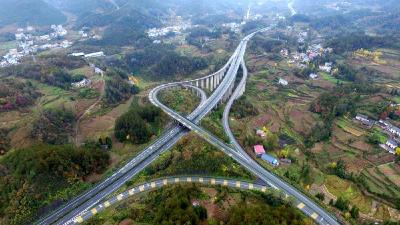 恩施境内高速提速 小型车限速100公里/小时