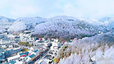 雪后,建始这个地方美成人间仙境!