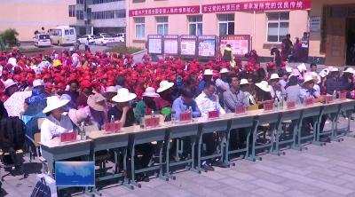 绿葱坡镇举办党风廉政文化惠民演出