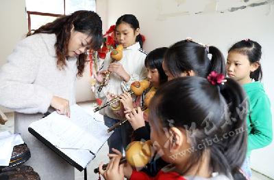 助力儿童成长 沿渡河镇文化服务进基层