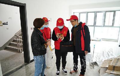"""社会服务""""零距离"""" 县委组织部开展党员下沉志愿服务活动"""