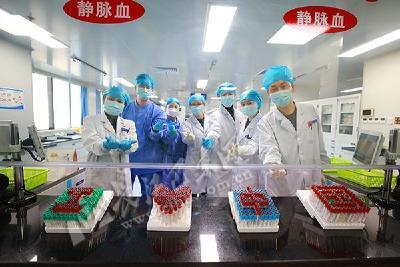"""""""我爱中国"""" 巴东医务人员对祖国深情表白"""