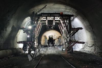 G348国道巴东县城至巴东北站快速通道全面复工
