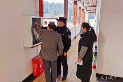 咸丰朝阳寺镇:清理福利院易燃物品 确保80余名老人安全过冬