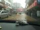 宣恩县椿木营集镇持续遭到暴雨侵袭  整个集镇内涝严重