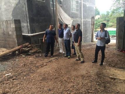县领导深入李家河镇指导检查地质灾害  防治工作