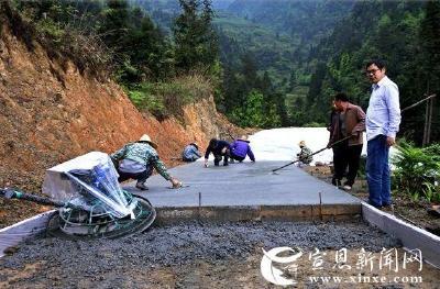 大茅坡营修通旅游公路