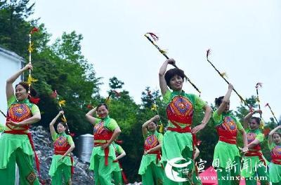 酉水蓝•贡米香  ——宣恩县沙道沟镇第二届农旅结合体验周启幕