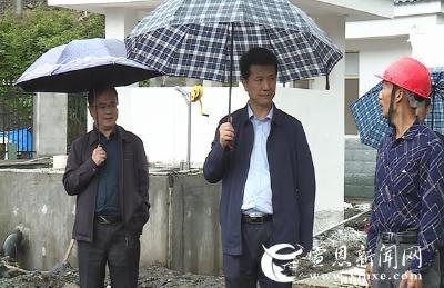 刘智勇调研椿木营、长潭河生态环保和防汛工作