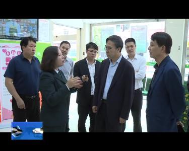 中国邮政集团调研组一行到宣恩调研基层邮政建设情况