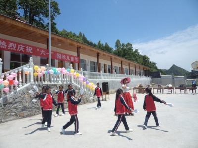 """马料坡教学点:大山深处的""""六一""""儿童节"""