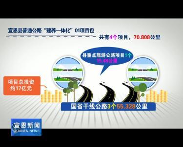 """我县普通公路""""建养一体化""""项目正式启动"""
