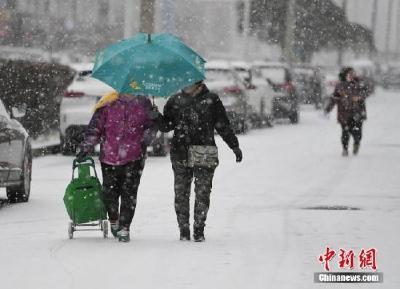 中东部地区将有大范围雨雪过程 山西东南部等地有大雾