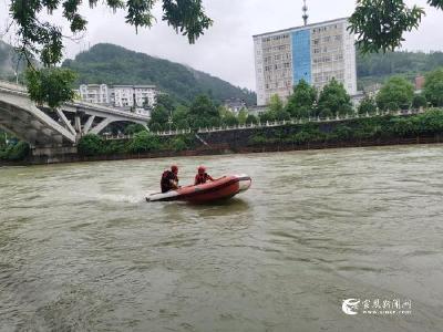 IRIA国际救援联盟教官来我县指导水域激流救援工作
