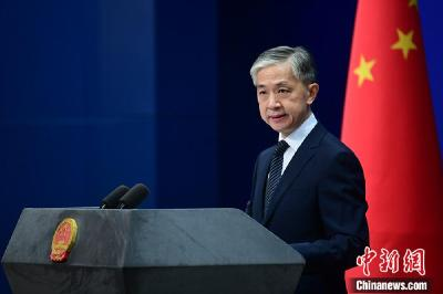 中国外交部新任发言人汪文斌亮相