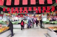 陈新林坐镇明堂市场督办环境秩序整治